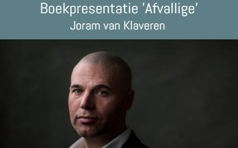 Uitnodiging boekpresentatie Afvallige van Joram van Klaveren